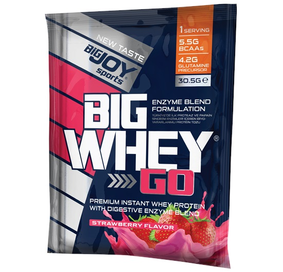 Big Joy Big Whey Go Çilek 1 Adet